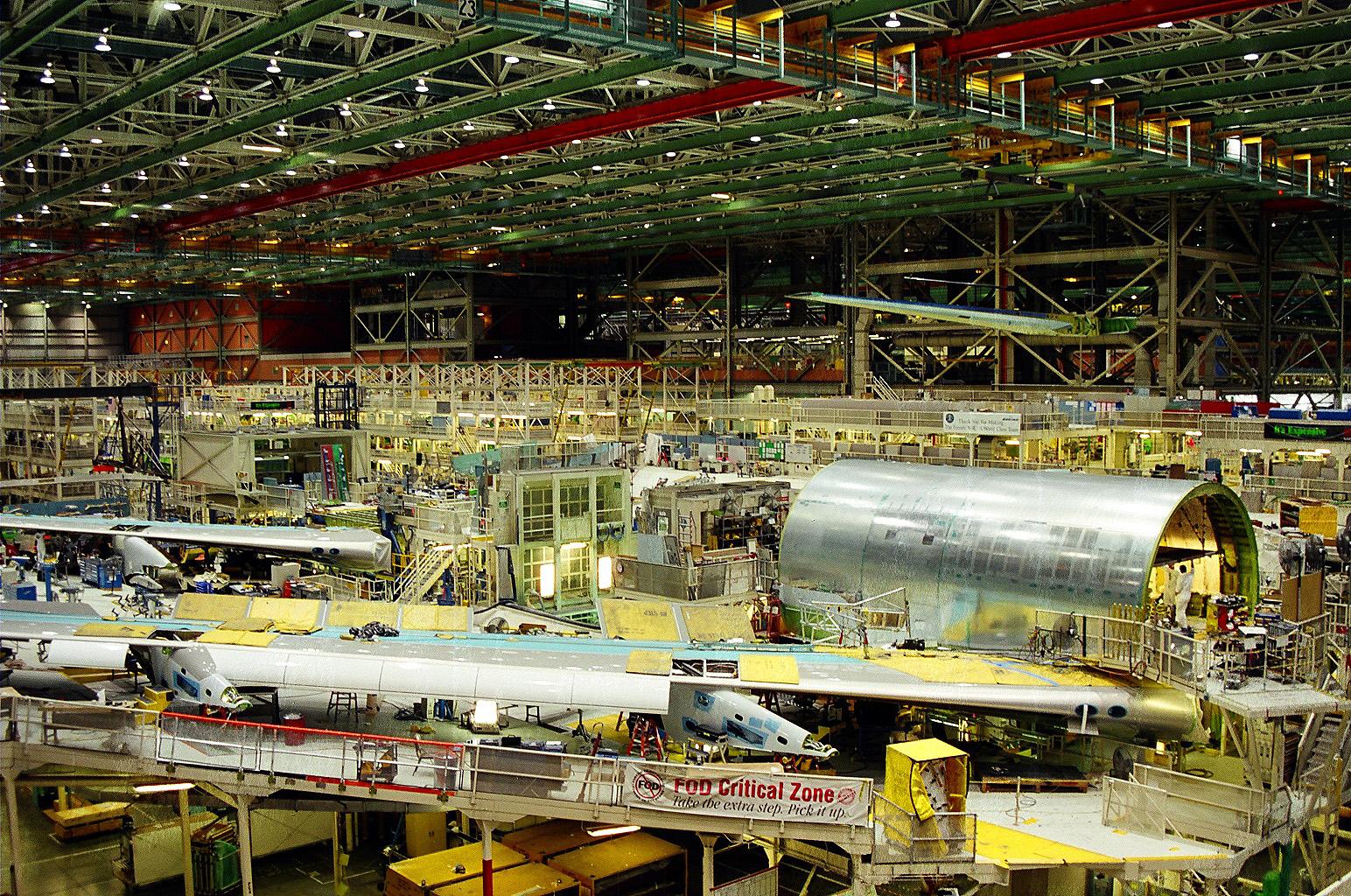 layout de fábrica
