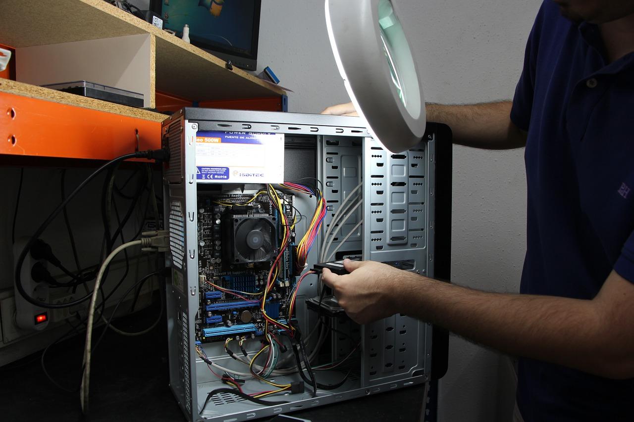 Reparar ou substituir componentes