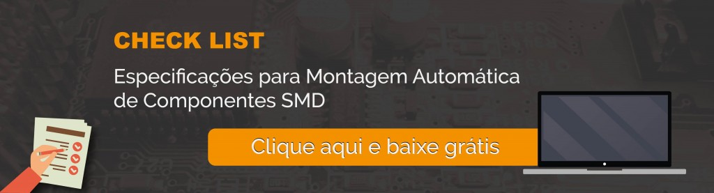 Montagem automatica de componentes SMD