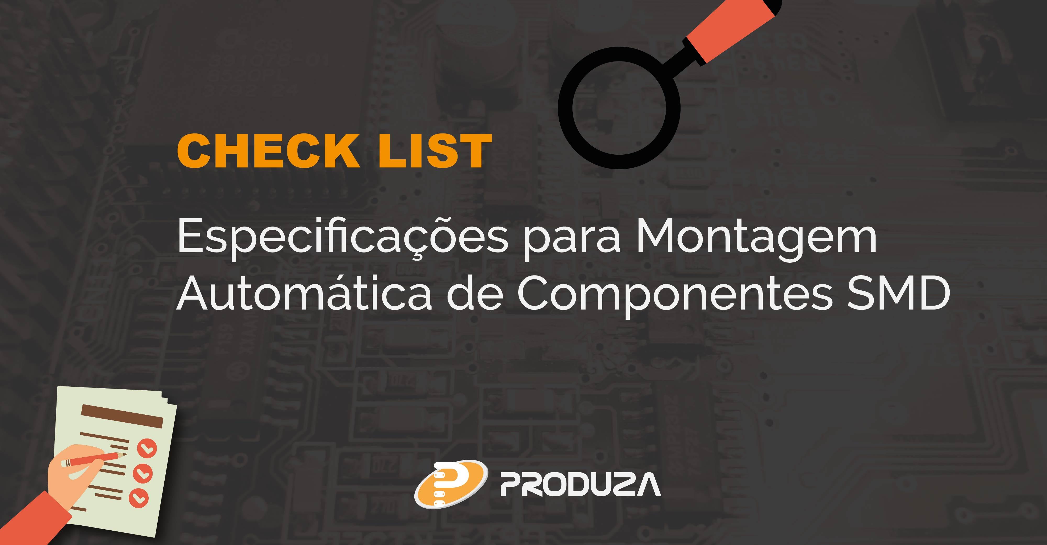 Montagem automática de componentes SMD